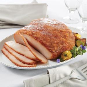 Meal preparation & serving   honey baked ham.