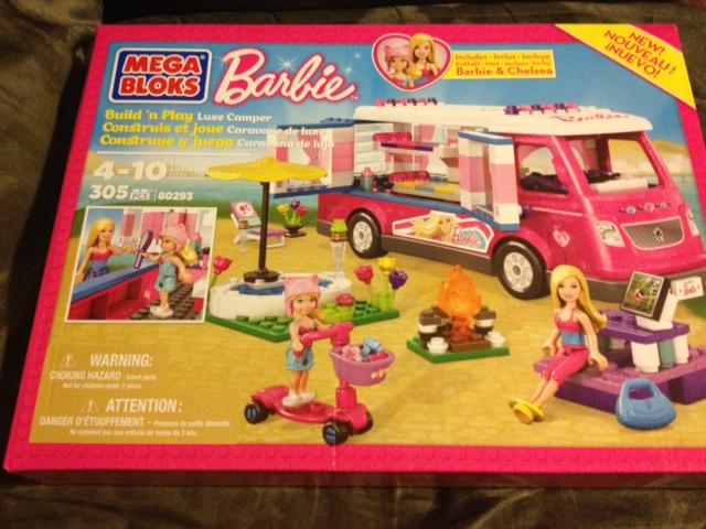 Mega Bloks Barbie Build n Play Luxe Camper #Barbie