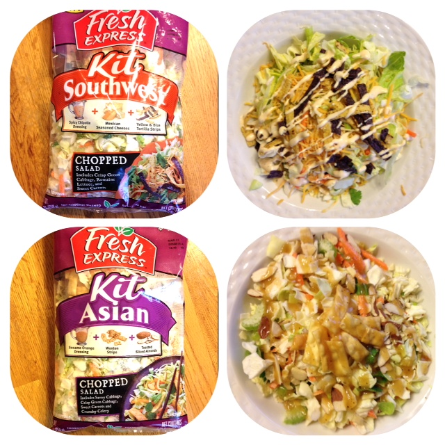 Make The Healthy Swap to Fresh Express Salads - Just Marla