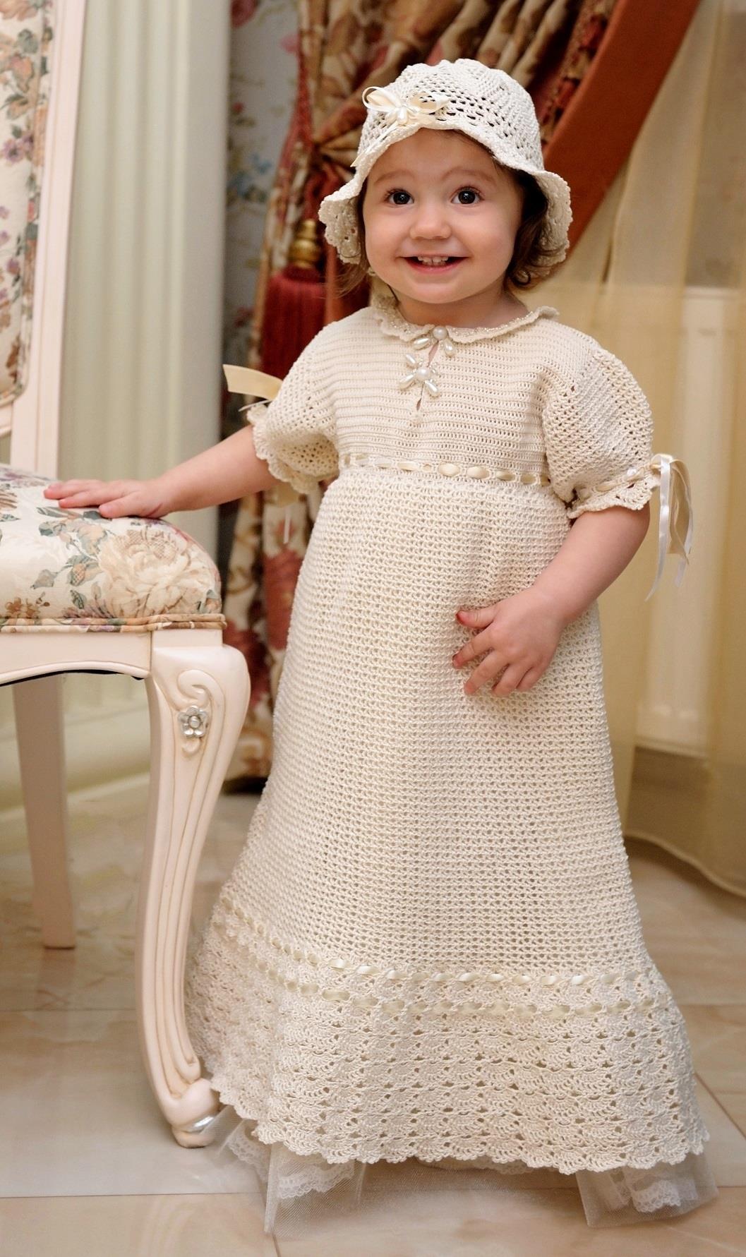 Dentelle Bebe – 100%  Handmade Christening Gowns