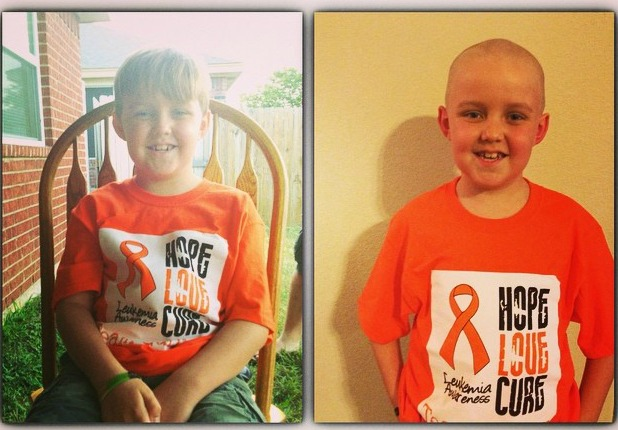 Gunner's Head Shaving Party to Show Leukemia Who's Boss! #TeamGunner