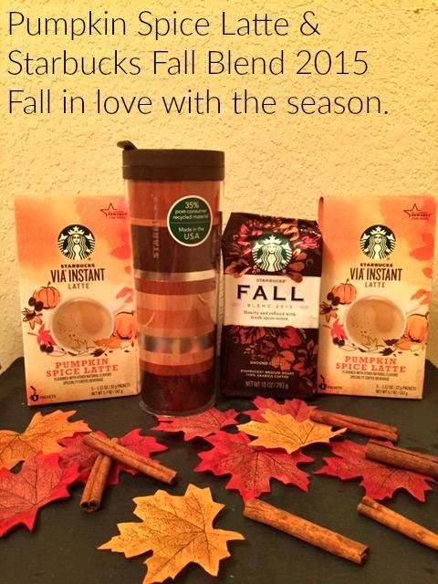 Starbucks Fall Blend 2015