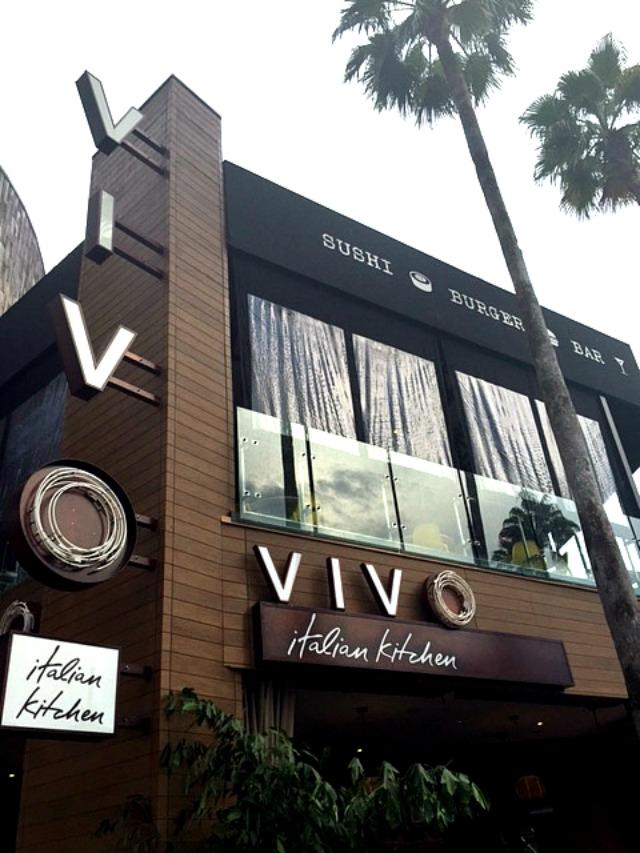 Vivo Italian Kitchen at CityWalk Universal Orlando - Just Marla