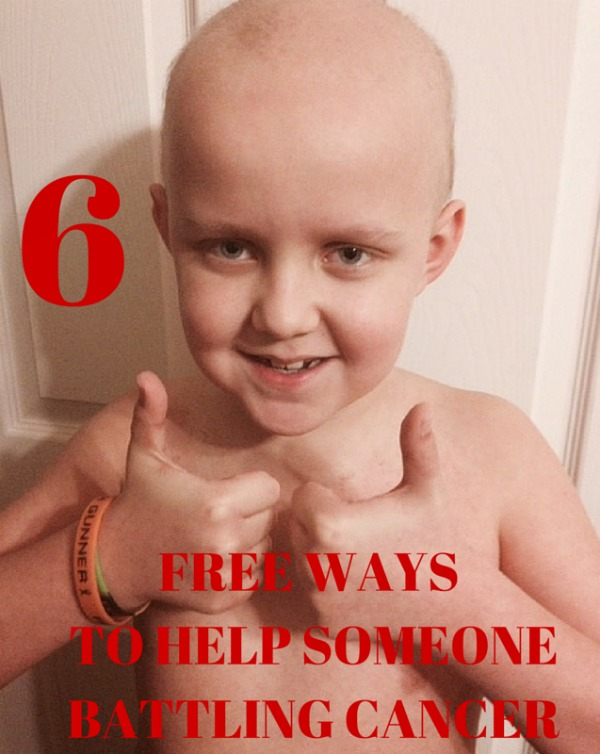 HELP SOMEONE WITH CANCER