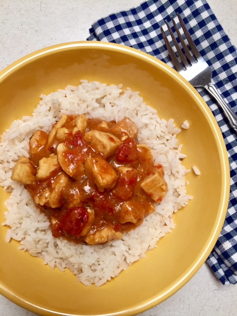 One Skillet Easy Creole Chicken