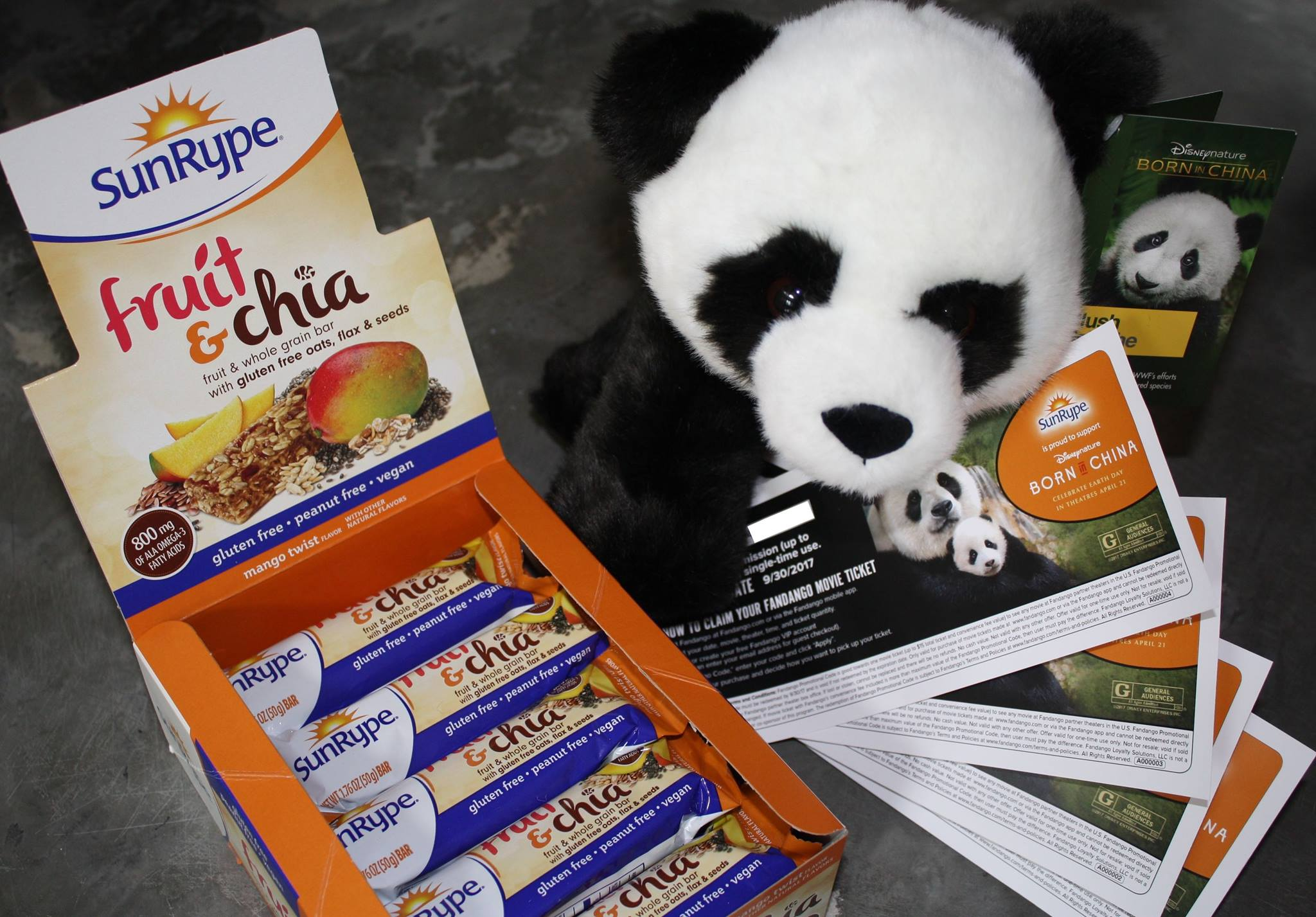 SunRype Disneynature Born In China Sweepstakes ~ Enter To