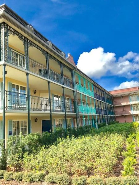 Disney's Port Orleans Resort French Quarter Beignets
