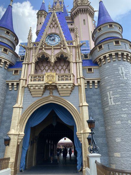 Walt Disney World Castle Renovation