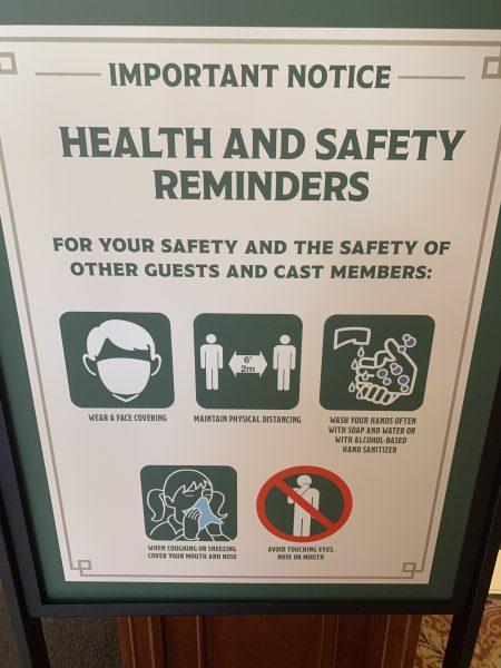 safety precautions at Disney
